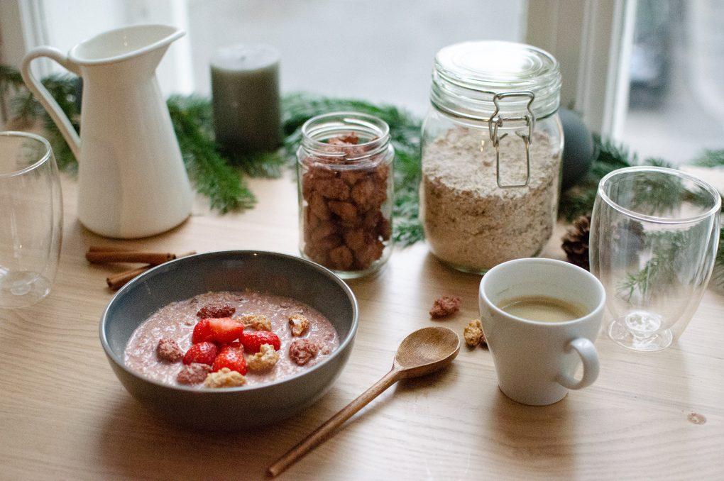 Weihnachtsfrühstück aus der Welt Verival