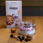 2.Crunchy Joghurt- Brombeer Bowl