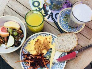 Petit déjeuner à Copenhague