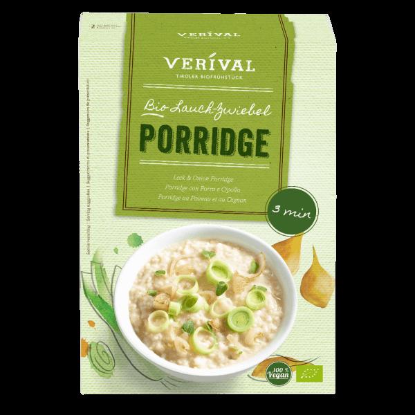 Porridge au Poireau et au Oignon