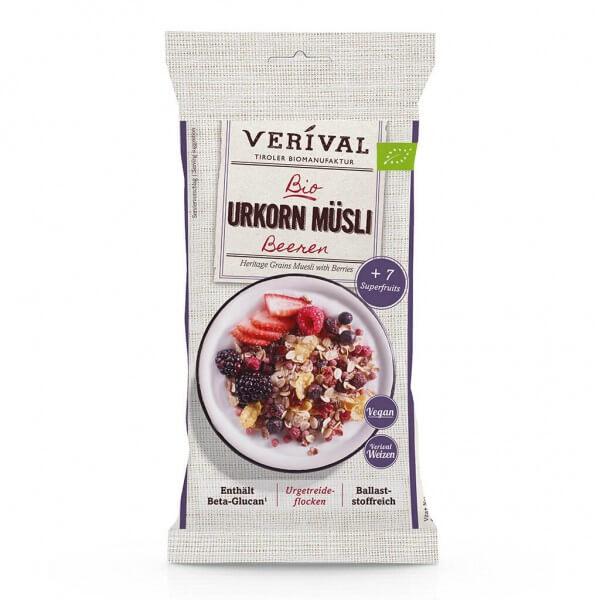 Verival Muesli aux céréales d'antan et baies 50g