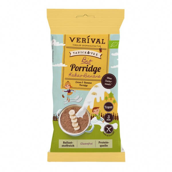 Porridge Cacao-Banane 45g