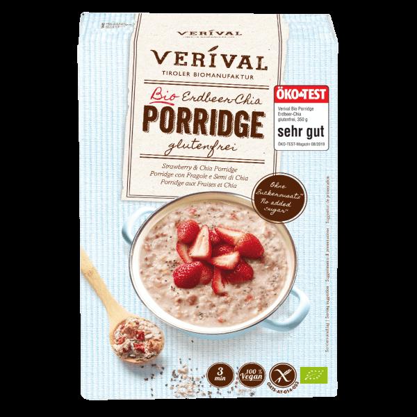 Porridge aux fraises et chia