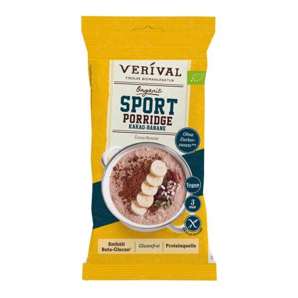 Sport Porridge Chocolat-Banane 45g