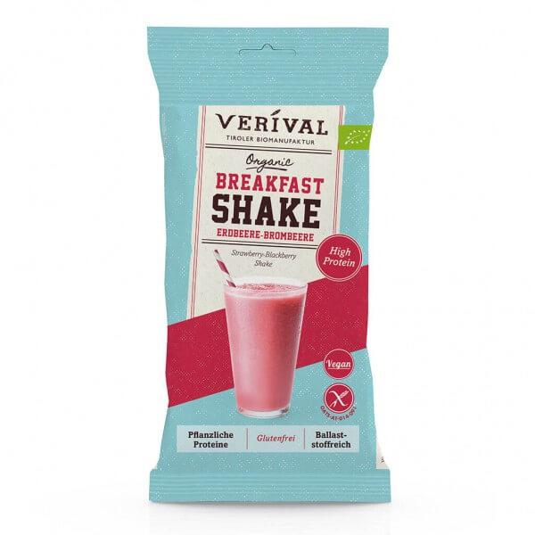 Verival Shake de petit déjeuner fraises-mûres 35g