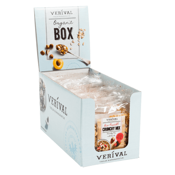 Cereal-Box Muesli croquant suprême aux Fruits 10x 45g