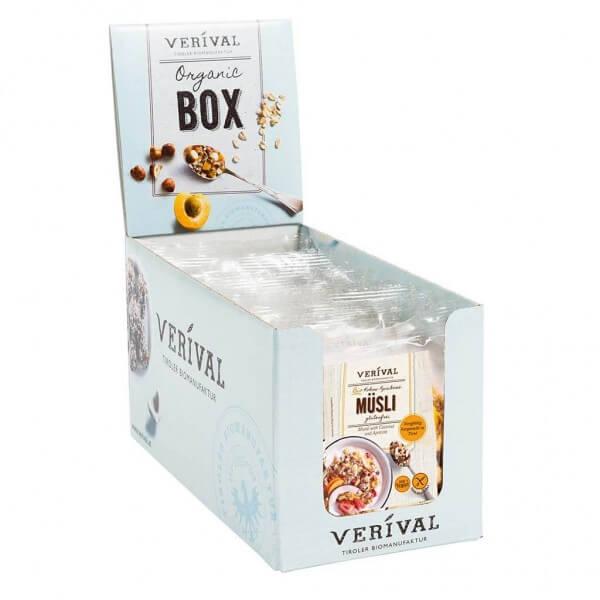 Verival Cereal Box Muesli à la noix de coco et abricots 12x 40g