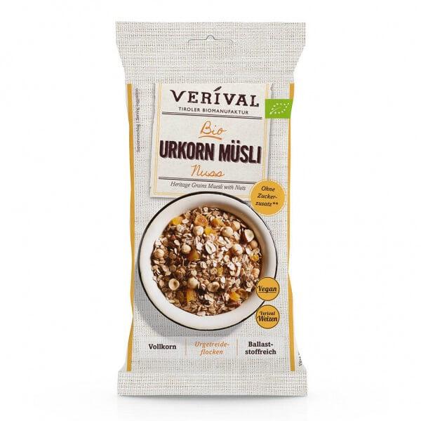 Verival Muesli aux céréales d'antan et noisettes 60g