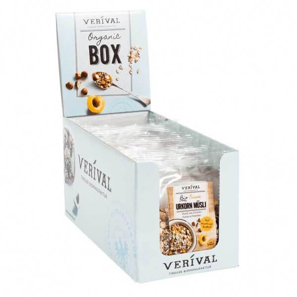 Cereal-Box Nuss Urkorn Müsli 12x 60g