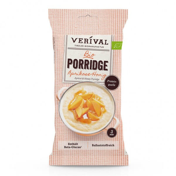 Verival Porridge aux abricots et miel 55g