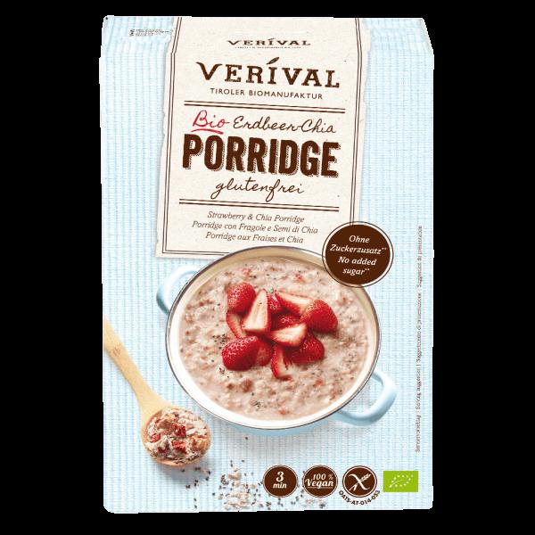 Verival Porridge aux fraises et chia