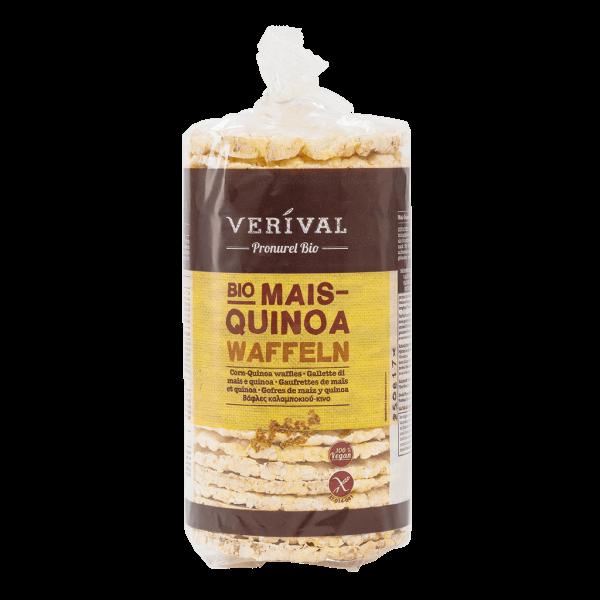 Gaufrettes de Maïs et Quinoa