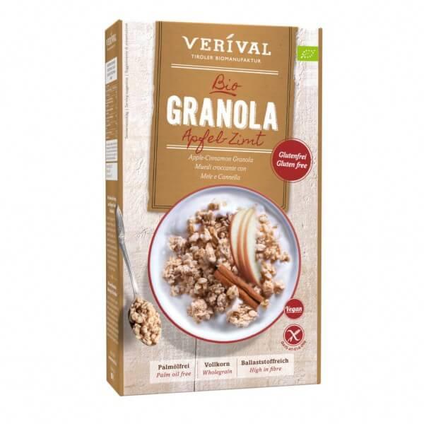 Verival Apfel-Zimt Granola