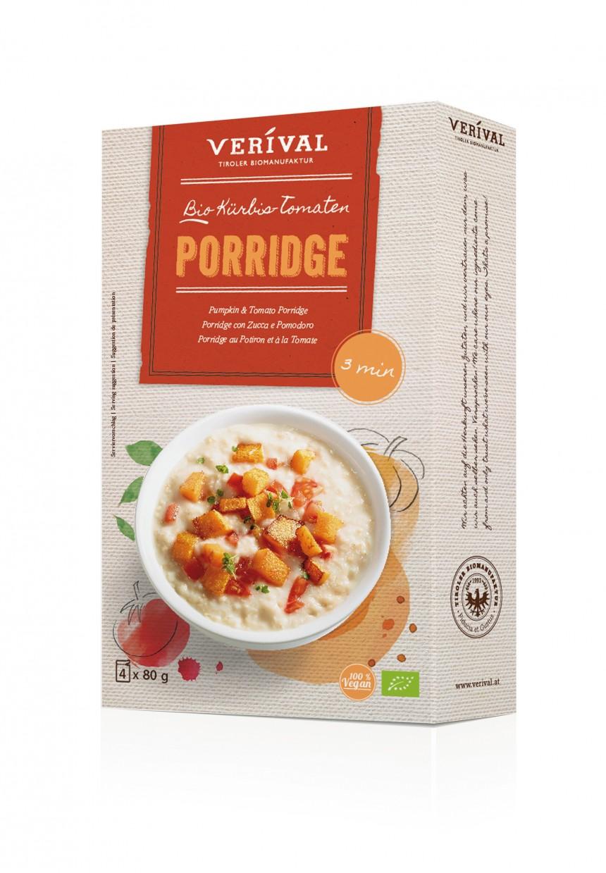 Verival Bio Porridge Kuerbis Tomate