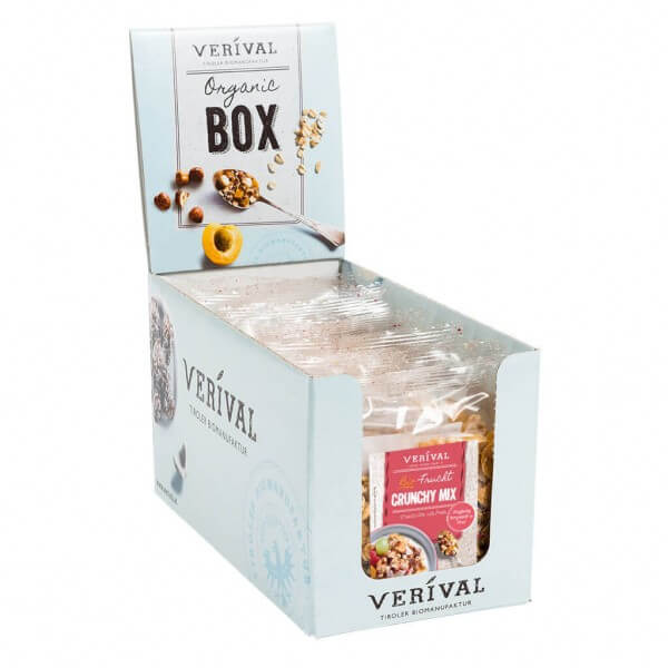 Verival Cereal-Box Frucht Crunchy Mix 10x 45g