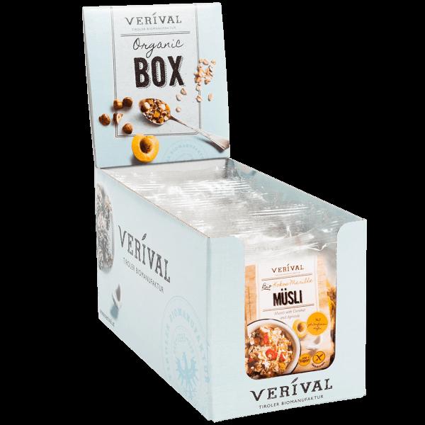 Verival Cereal-Box Kokos-Marille Müsli 12x 40g