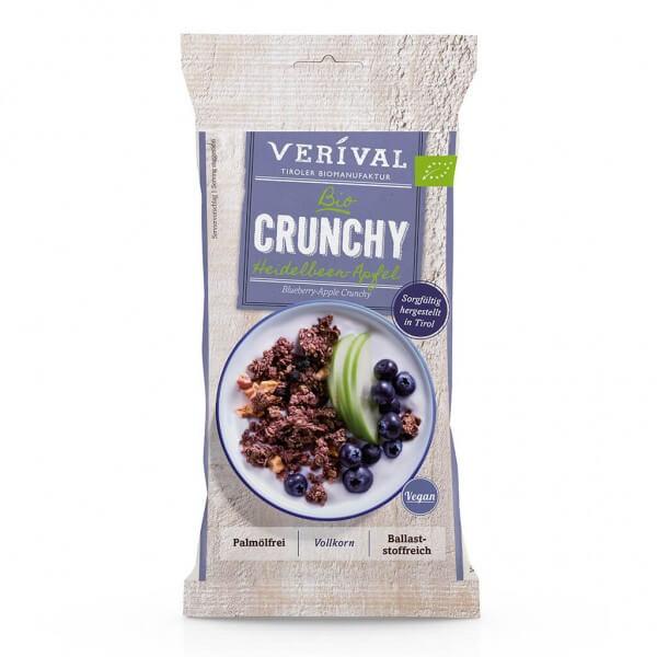 Verival Crunchy aux myrtilles et pommes 50g