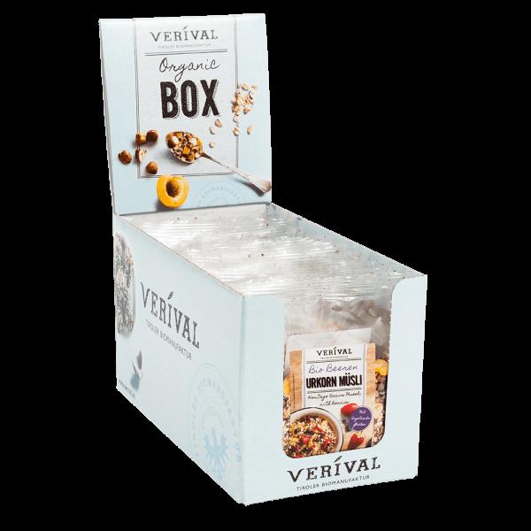 Cereal-Box Muesli aux Céréales d'antan et Baies 12x 50g