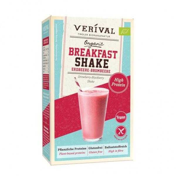 Shake de petit déjeuner fraises-mûres 280g