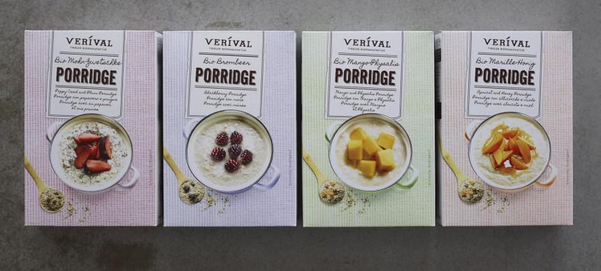 Verival Bio Porridge Familie