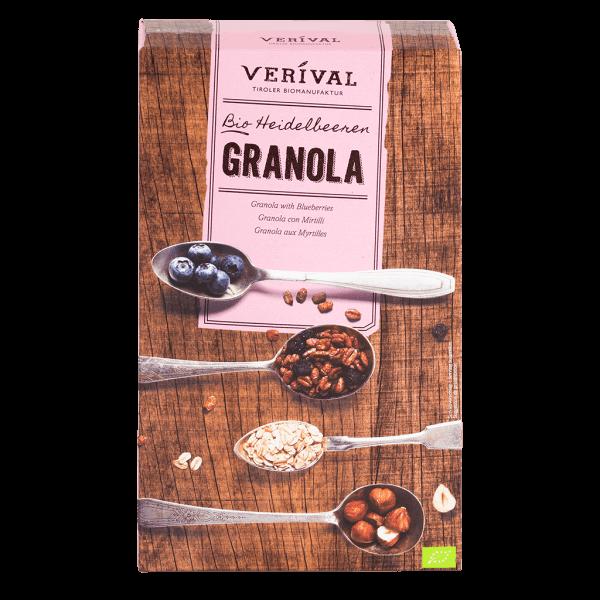 Granola aux Myrtilles