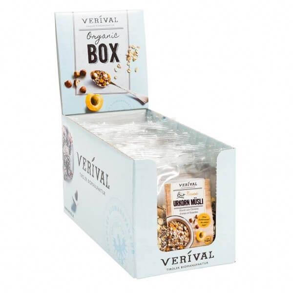 Cereal-box muesli aux céréales d'antan et noisettes 12x 60g