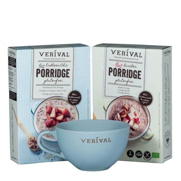 Coffret cadeau porridge sans gluten