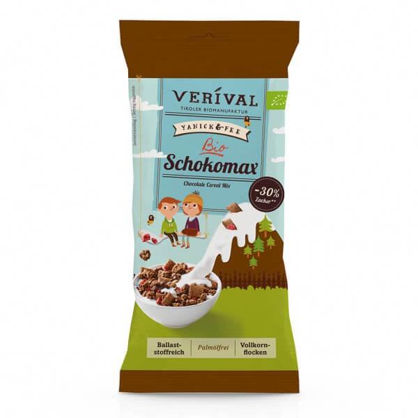 Verival Mélange de céréales au chocolat 45g