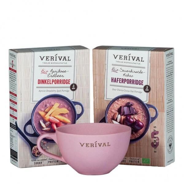Coffret cadeau porridge des cinq éléments
